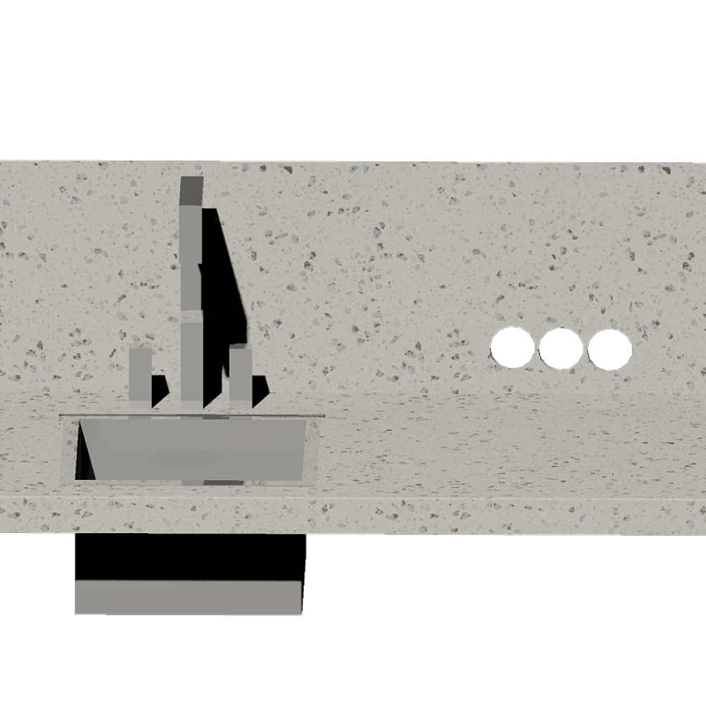 Вырезы в стеновой панели